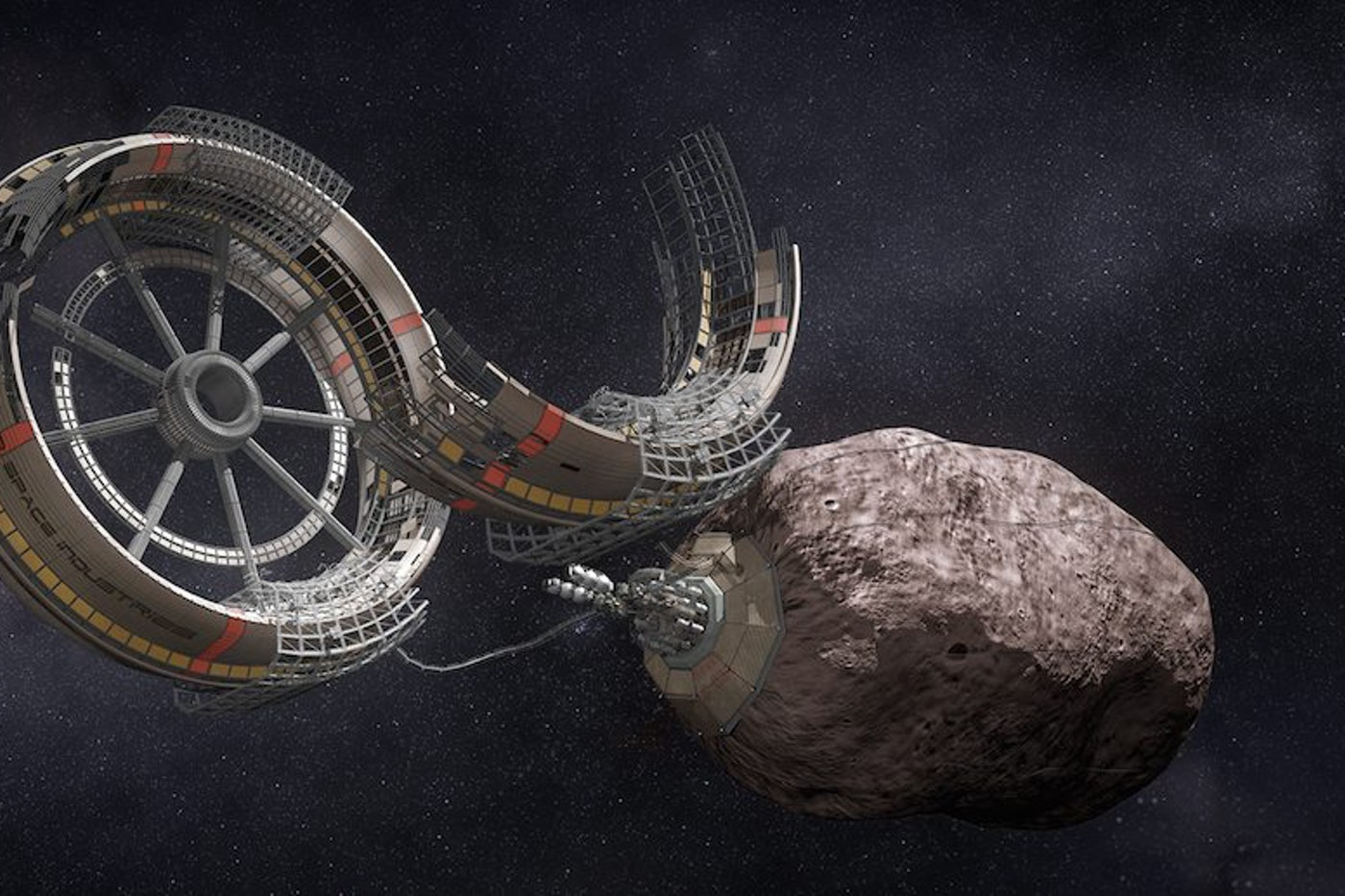 Space Mining The High Frontier